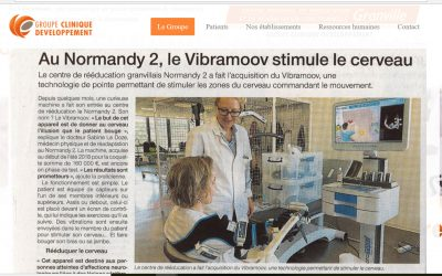 At the Normandy 2 facility, Vibramoov triggers brain stimulations